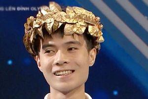 Nam sinh xứ Nghệ chiến thắng thuyết phục, giành vòng nguyệt quế Olympia với 310 điểm