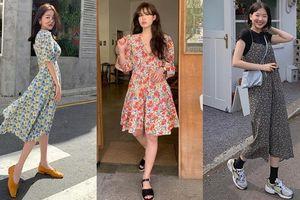 Gái Hàn có 10 công thức diện váy hoa xinh hết ý, học hỏi ngay để lên đồ hè này
