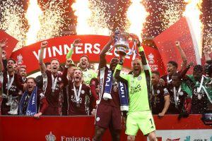 Đánh bại Chelsea, Leicester City lần đầu tiên đăng quang FA Cup