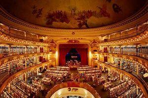 'Hô biến' nhà hát 100 tuổi thành hiệu sách tuyệt đẹp