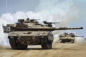 Chiến sự Israel – Palestine leo thang: Hamas dùng tên lửa bắn cháy xe tăng Israel