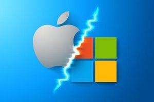 'Cuộc chiến' giữa Apple và Microsoft lại bắt đầu