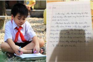 Miêu tả mẹ với loạt khuyết điểm, cậu bé tiểu học vẫn khiến dân tình 'lụi tim' với câu chốt cuối bài