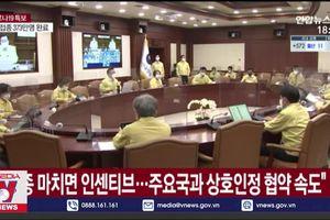Thủ tướng Hàn Quốc khuyến khích tiêm vaccine phòng COVID-19