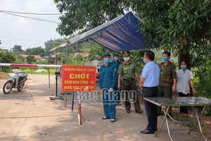 Giãn cách xã hội toàn bộ huyện Lạng Giang và Lục Nam