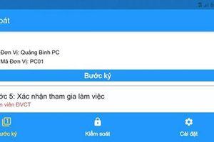 PC Quảng Bình: Triển khai ứng dụng phần mềm cấp phiếu công tác điện tử