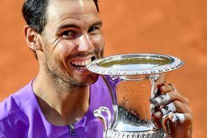 Đánh bại địch thủ Djokovic, Nadal lần thứ 10 vô địch Rome Masters