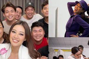 Những hình ảnh hậu trường chưa từng công bố của Hoa hậu Khánh Vân được chia sẻ đồng loạt