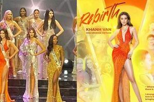 Lộ diện bộ đầm dạ hội Hoa hậu Khánh Vân sẽ mặc trong Chung kết Miss Universe?
