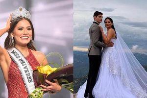 Nghi vấn Tân Hoa hậu Hoàn vũ Andrea Meza đã bí mật kết hôn: 'Nhà trai' giải thích ra sao?