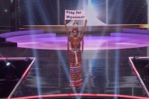 Hoa hậu Hoàn vũ Myanmar kêu gọi thế giới lên tiếng vì người dân nước này
