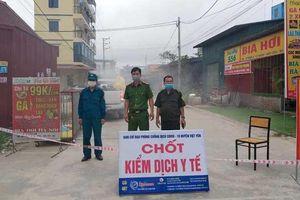 COVID-19: Tập trung dập dịch tại điểm nóng Bắc Giang