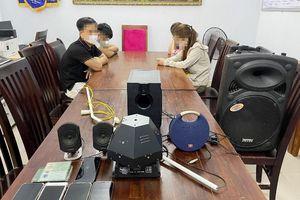 4 thanh niên tụ tập phê ma túy trong chung cư