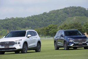 Giá lăn bánh mẫu Hyundai SantaFe 2021 vừa ra mắt