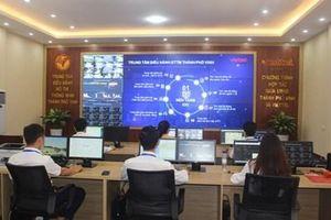 Khai trương Trung tâm điều hành đô thị thông minh thành phố Vinh