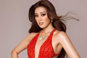 Trang phục dạ hội của Khánh Vân ở chung kết Hoa hậu Hoàn vũ