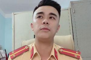 Trung úy CSGT nói về hành động chào đoàn chi viện từ Quảng Ninh