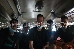 Đồng Nai: Phát hiện 5 người Trung Quốc trốn trong thùng carton trên xe khách, nhập cảnh vào Việt Nam