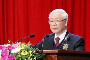 Chương trình hành động của Tổng Bí thư Nguyễn Phú Trọng, ứng cử viên đại biểu Quốc hội khóa XV
