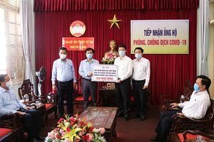 EVN trao 600 triệu đồng cùng Đà Nẵng phòng, chống dịch Covid-19