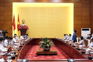 Đoàn công tác của Bộ Y tế làm việc tại Bắc Ninh về công tác phòng, chống dịch Covid-19