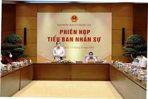 Phiên họp thứ hai của Tiểu ban Nhân sự, Hội đồng Bầu cử Quốc gia