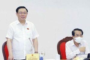 Chủ tịch Quốc hội Vương Đình Huệ: Đảm bảo công khai, minh bạch, khắc phục tính nửa vời trong công tác dân nguyện