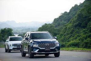 Cận cảnh Hyundai SantaFe 2021 từ 1,03 tỷ đồng tại Việt Nam