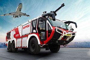Falcon 8x8 - xe cứu hỏa lớn nhất, tân tiến nhất thế giới của Dubai