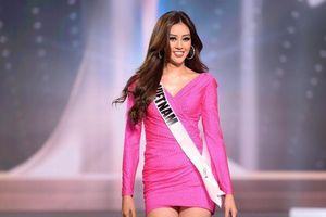 Khánh Vân thẳng tiến vào Top 21 Miss Universe