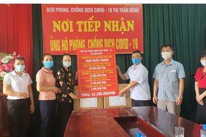 Ngành GD&ĐT Việt Yên (Bắc Giang) ủng hộ hơn 1 tỉ đồng cho tuyến đầu chống dịch