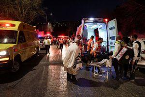 Vụ sập khán đài giáo đường Do Thái: Hai người chết, hàng chục người bị thương