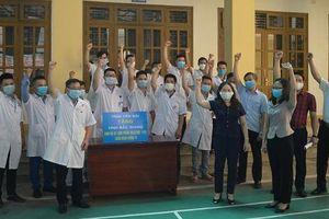 Yên Bái là tỉnh tiếp theo cử đội ngũ y tế chi viện Bắc Giang chống dịch