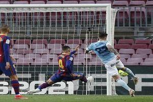 Thất bại trước Celta Vigo, Barcelona chấm dứt cuộc đua vô địch La Liga
