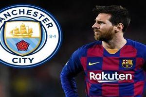Messi ra điều kiện để cập bến Man City