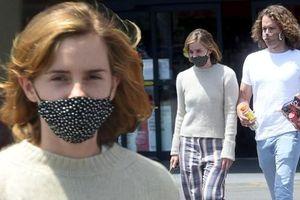 Emma Watson gây thất vọng vì nhan sắc 'tụt dốc', còn ăn mặc xuề xòa