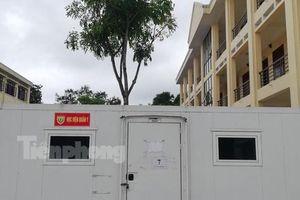 Thần tốc triển khai trung tâm xét nghiệm dã chiến chống COVID-19 tại Bắc Giang