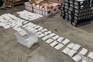 Australia: Phát hiện 316kg ma túy đá trong lô lò nướng nhập khẩu