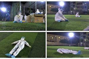Y bác sỹ trắng đêm xét nghiệm 9.000 người ở Bắc Giang, người dân bật khóc