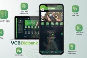 Vietcombank tiếp tục bổ sung tính năng mới trên VCB Digibank