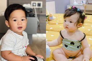 Ngắm vẻ dễ thương, 'cưng xỉu' của những em bé nhà sao Việt: Con trai Đặng Thu Thảo điển trai như soái ca, tiểu thư nhà Đông Nhi lộ bụng 'phệ' đáng yêu
