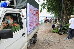 Nhiều người dân Hà Nội vẫn chủ quan với dịch COVID-19