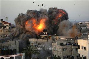 Israel không kích phá hủy hệ thống đường hầm của Hamas