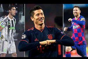 Chiếc giày Vàng châu Âu 2020/21: Lewandowski độc chiếm đỉnh bảng, Messi và Ronaldo ganh đua đến phút cuối