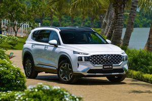 Những nâng cấp đáng giá của Hyundai Santa Fe 2021 tại Việt Nam