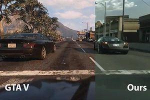 Đồ họa GTA V trông giống thực tế đến kinh ngạc nhờ AI