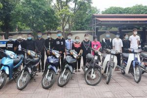Hà Tĩnh: Triệu tập 30 'quái xế' trong nhóm Domino 38