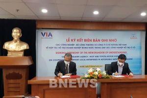 Toyota Việt Nam hỗ trợ doanh nghiệp trong nước ở lĩnh vực công nghiệp hỗ trợ