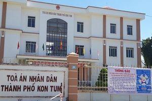 Một thẩm phán tại Kon Tum bị điều tra về hành vi nhận hối lộ