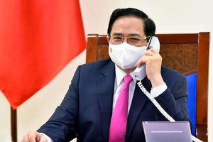 Thủ tướng đề nghị Nhật Bản sớm chuyển giao công nghệ về vaccine Covid-19 cho Việt Nam